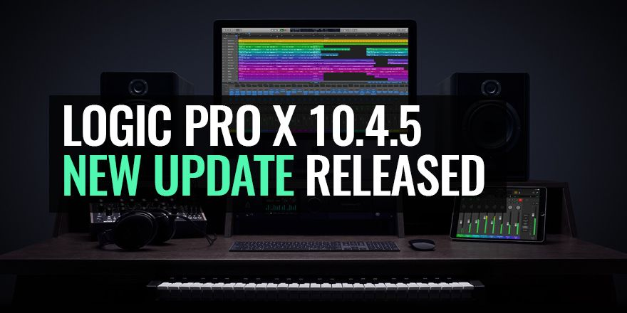 Apple Logic Pro X 10.4.5 New Update
