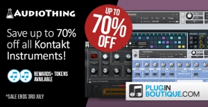 AudioThing 70 off sale