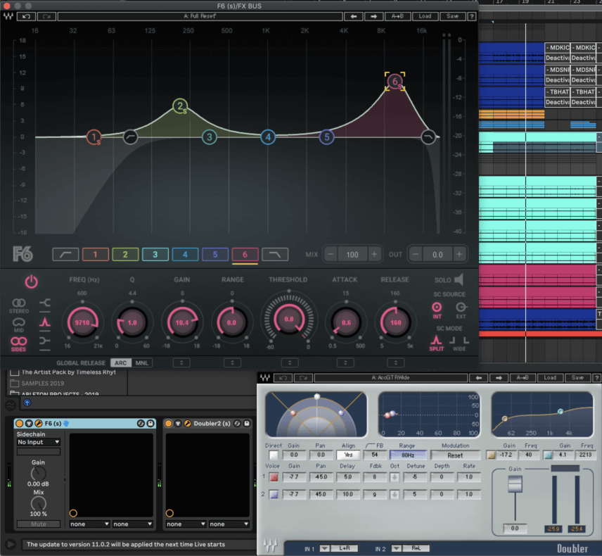 Mixing Microhouse With Waves