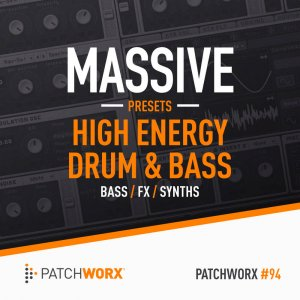 Loopmasters High Energy Drum & Bass Massive Patches