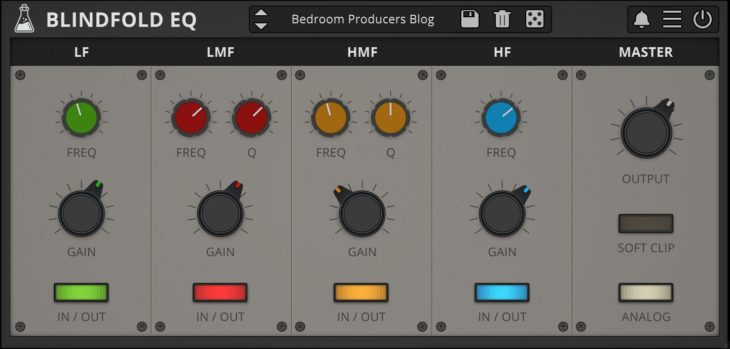 Blindfold EQ by AudioThing
