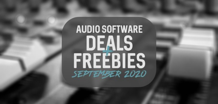 Top Music Production Deals & Freebies – September 2020