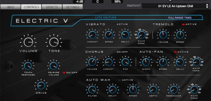 Electric V LE Free Electric Piano Released By Production Voices