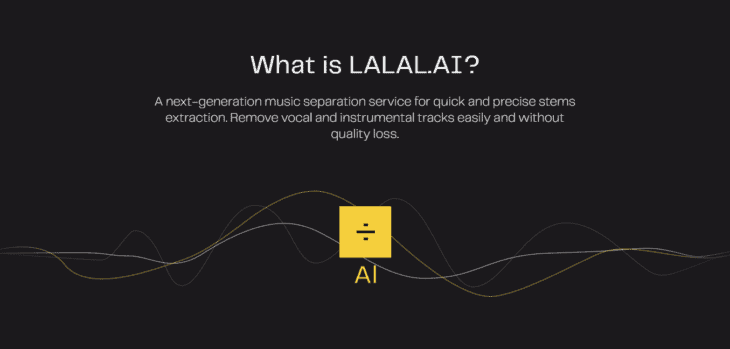 LALAL.AI Vocal Extractor