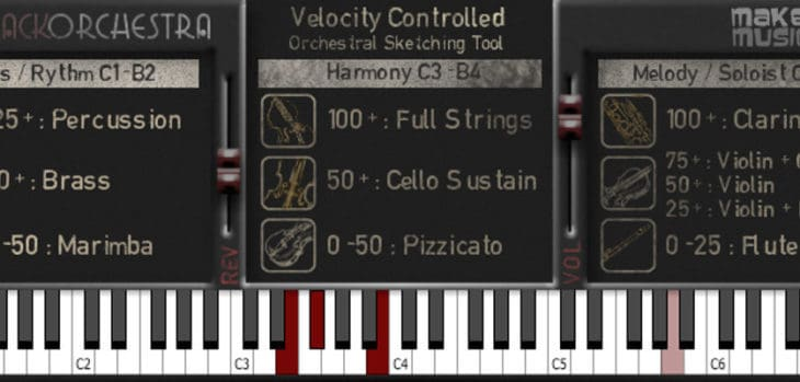 """Free """"One Track Orchestra"""" Virtual Instrument For Windows (VST)"""