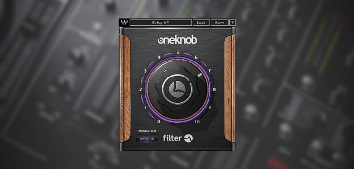 Waves OneKnob Filter Is FREE Until July 26th!