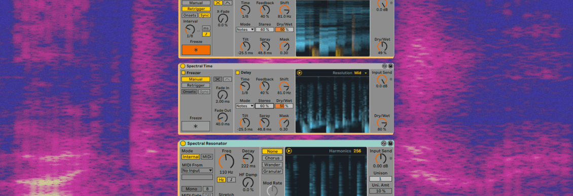 Understanding Ableton Live 11's New Spectral Effects