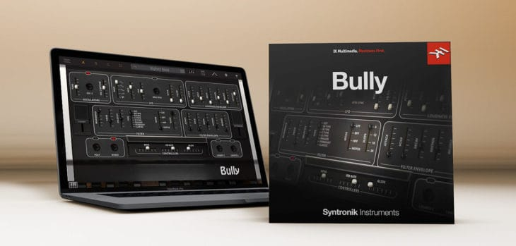 IK Multimedia Syntronik Bully (€49.99 Value) Is FREE Until May 23rd!